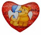 Подушка декоративная Мнушки Сердце 4 30х35 см (Ап11сер12)