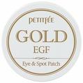 Petitfee Гидрогелевые патчи для век с золотыми частицами и фактором роста Gold & EGF eye & spot patch