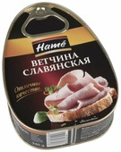 Hame Ветчина Славянская 340 г