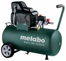 Компрессор безмасляный Metabo BASIC 280-50 W OF, 50 л, 1.7 кВт