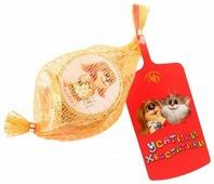Фигурный шоколад Монетный двор ШОКО Усатики-Хвостатики, упаковка