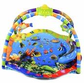Развивающий коврик La-Di-Da Подводный мир со светом и музыкой (PM-T-1-80701)