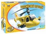 Сборная модель ZVEZDA Детский российский вертолет (5212)