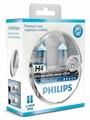 Лампа автомобильная галогенная Philips H4 White Vision 3700K 12V 60/55W + W5W 12V 5W 2 шт.