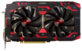 Видеокарта PowerColor Red Devil Radeon RX 590 8GB GDDR5 AXRX 590 8GBD5-3DH/OC