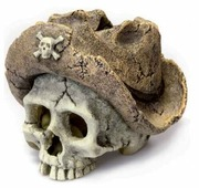 Грот BARBUS Пиратский череп Decor 139 8.5x7x7.5 см