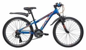 Подростковый горный (MTB) велосипед Novatrack Extreme 24 21 (2019)