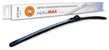 Щетка стеклоочистителя бескаркасная SVS AeroMax 475 мм