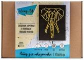 String Art Lab Набор для творчества Слон, минимализм (A4M003)