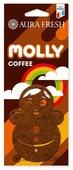 AURA FRESH Ароматизатор для автомобиля Molly Coffee