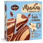 Торт Faretti Мрамми Какао и ваниль
