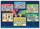 Настольное покрытие Silwerhof Флаги и государства 671618