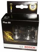 Лампа автомобильная галогенная BOSCH Plus 90 1987301075 H7 12V 55W 2 шт.