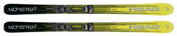 Горные лыжи HEAD Monster 98 Ti с креплениями ATTACK 13 GW (17/18)