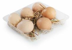 Яйцо цесариное Без бренда фермерское 6 шт