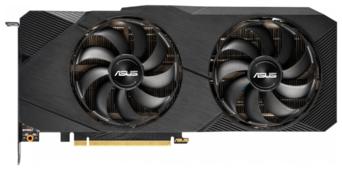 Видеокарта ASUS GeForce RTX 2070 SUPER 1605MHz PCI-E 3.0 8192MB 14000MHz 256 bit HDMI HDCP Dual EVO OC