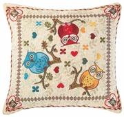 Чехол для подушки Pastel Совята 45х45 см (1315722)