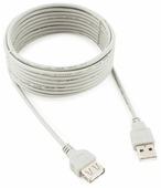 Удлинитель Gembird USB - USB (CC-USB2-AMAF-15) 4.5 м