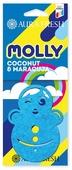 AURA FRESH Ароматизатор для автомобиля Molly Coconut&Maracuja