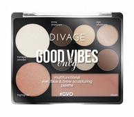 DIVAGE Палетка для макияжа Good Vibes Only №01