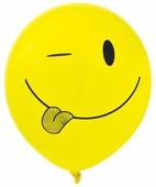 Набор воздушных шаров Action! Смайлы (5 шт.)