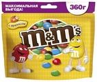 Драже M&M's с арахисом и молочным шоколадом