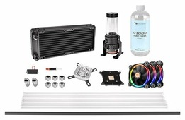 Кулер для процессора Thermaltake Pacific M240 D5 Hard Tube Water Cooling Kit