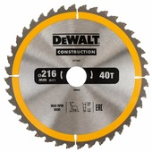 Пильный диск DeWALT Construction DT1953-QZ 216х30 мм
