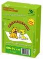 Пеленки для собак впитывающие Доброзверики Сухие лапки 60х40 см
