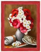 Алмазная живопись Набор алмазной вышивки Пылкие маки (АЖ-1510) 30х40 см