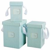 """Набор подарочных коробок Дарите счастье """"Счастье"""" 3 шт."""