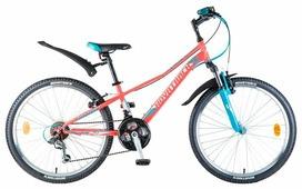 Подростковый горный (MTB) велосипед Novatrack Valiant 24 18 (2018)
