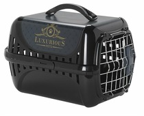 Переноска-клиппер для кошек и собак Moderna Trendy Runner Luxurious Pets 51х31х34 см