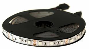 Светодиодная лента URM-LED 5050-60led-12V-14.4W-18-20LM-RGB-IP22-10mm 5 м