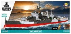 Конструктор Cobi World of Warships 3082 Корабль Его Величества Уорспайт