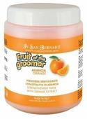 Маска Iv San Bernard Fruit of the Grommer Orange восстанавливающая с силиконом для кошек и собак со слабой выпадающей шерстью 1 л