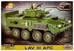 Конструктор Cobi Small Army 2609 Бронеавтомобиль LAV III APC