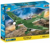 Конструктор Cobi Small Army World War II 5700 Самолет Junkers Ju 87G