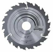 Пильный диск BOSCH Speedline Wood 2608640789 165х30 мм