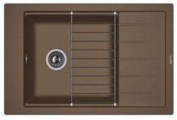 Врезная кухонная мойка FLORENTINA Липси-780Р 78х51см искусственный гранит