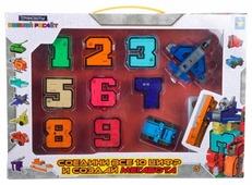 Трансформер 1 TOY Трансботы Боевой расчет (10 цифр) Т16429