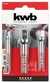 Набор адаптеров для торцевых головок kwb 105310 3 шт.