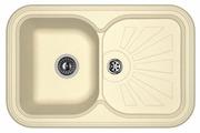 Врезная кухонная мойка FLORENTINA Крит-780 FS 78х51см искусственный гранит