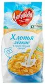 Готовый завтрак Любятово Хлопья кукурузные легкие, пакет