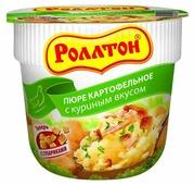 Роллтон Пюре картофельное с куриным вкусом 40 г