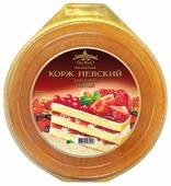 Коржи для торта Виадук Невский бисквитный светлый