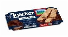 Вафли Loacker хрустящие сливочные с какао-начинкой 175 г
