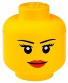 Контейнер LEGO Storage Head Large Girl
