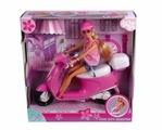 Simba Кукла Steffi Love Штеффи на скутере, 27 см, 5730282