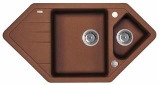 Врезная кухонная мойка IDDIS Vane G V36C965i87